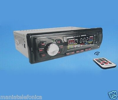 Stereo Auto Bluetooth Autoradio Fm Mp3 Usb Sd Aux 45Wx4 6249