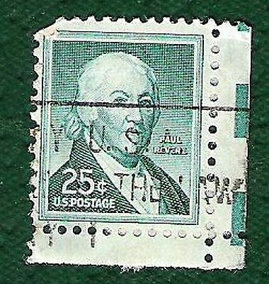 Postage Stamps United States Of America -Paul Revere