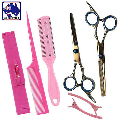 Hair Cutting & Thinning Scissors Set Trimming Bangs Clip Hair Trim JHCO33708