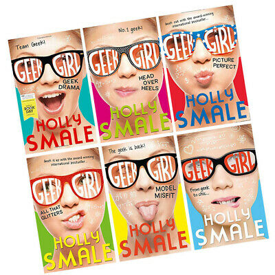 1Holly Smale Collection Geek Girl Series 6 Books Set Pack Head Over Heels NEW PB