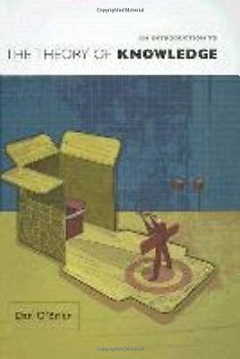 An Introduction to the Theory of Knowledge,PB,Dan O'Brien - NEW