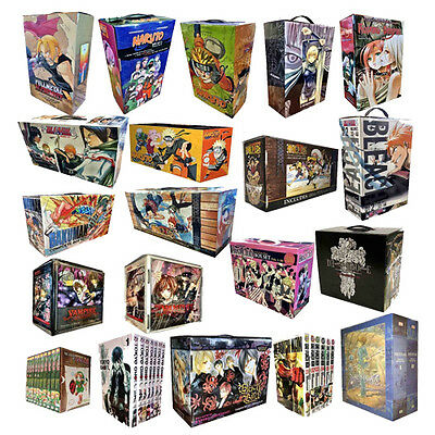 Manga Anime One Piece Naruto Fullmetal Alchemis Nausicca Collection Box Set New