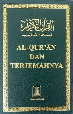 INDONESIAN; Holy Quran Arabic Text with Indonesian Translation -HB