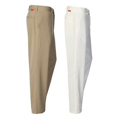Dwyers & Co. Mens Flat Front Chino Golf Trousers Pants Bottoms 54% OFF RRP
