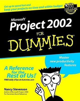 Microsoft Project 2002 For Dummies,PB,Nancy Stevenson - NEW