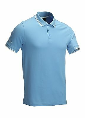 Glenmuir Mens Tipped Golf Polo Shirt Sports Top 75% OFF RRP