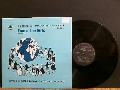 ALASTAIR HUNTER & LORNE SCOTTISH DANCE BAND Frae A The Airts   LP