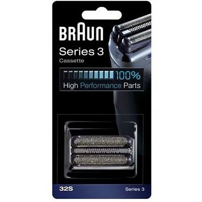 Braun 32S Series 3 Replacement Head / Official Electric Shaver of the NFL / Gets