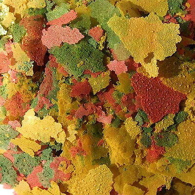 Tropical Flakes Bulk Aquarium Fish Food 1/4 LB