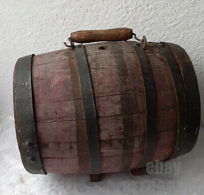 """19"""" Antique  carved WOODEN mirror w/ flowers ART carving OLD green & GOLD PAINT"""