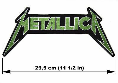 METALLICA logo BACK PATCH embroidered NEW Metallica thrash metal