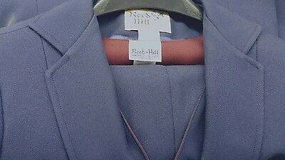 Reed Hill Ladies 3 piece Saddleseat suit Solid NAVY polyester size 20 - USA