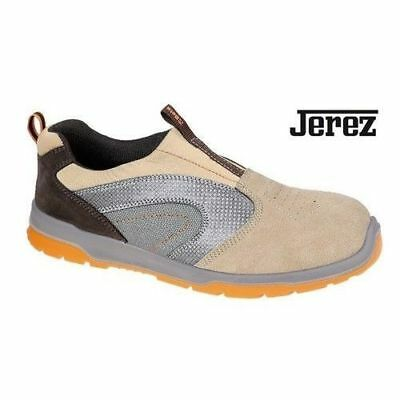 Safety Shoes Without Laces Beta Work 7334 7334T In Suede Leather