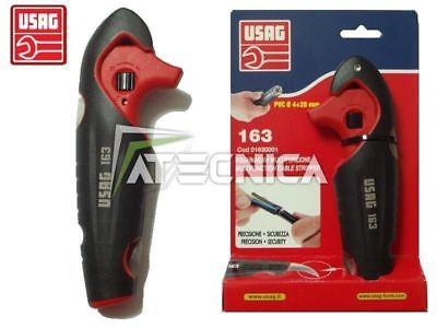 Cable Stripper Wire Usag 163 Electric Isolation Pvc Handle Ergonomic