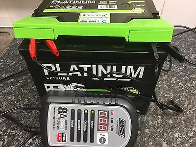 Optimiser 8A Caravan Leisure Motorhome Electronic Smart Battery Charger