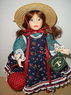 """Robin Woods 1985 Anne of Green Gables 14"""" Vinyl Doll Made in USA #026"""
