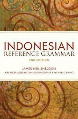 Indonesian Reference Grammar by James Neil Sneddon Paperback Book Free Shipping!