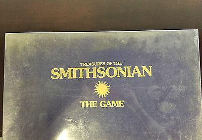Treasures Of The Smithsonian Sealed Board Game New In Box