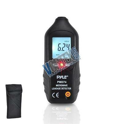 Pyle New PMD74 Digital LCD Microwave Leakage Detector/ Never Needs Recalibration