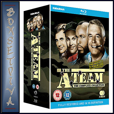 The A Team -Complete Tv Series - Seasons 1 2 3 4 & 5 **Brand New Bluray Boxset**