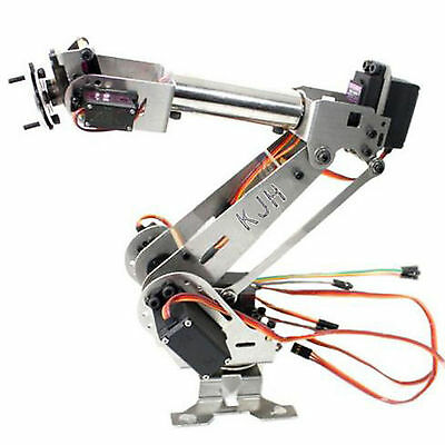 Fully Assembled 6-Axis Mechanical Robotic Arm Clamp for Arduino Raspberry KJH
