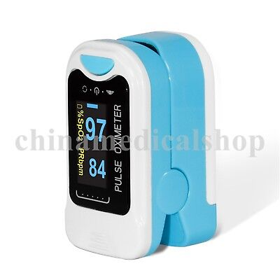 Pouch&Lanyard CE Finger Tip Pulse Oximeter Blood Oxygen Saturation SPO2 Monitor