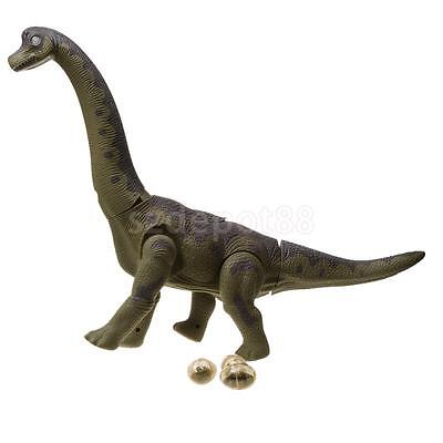 Lifelike Electric Walking Dinosaur Laying Eggs Educational Toy with Sound