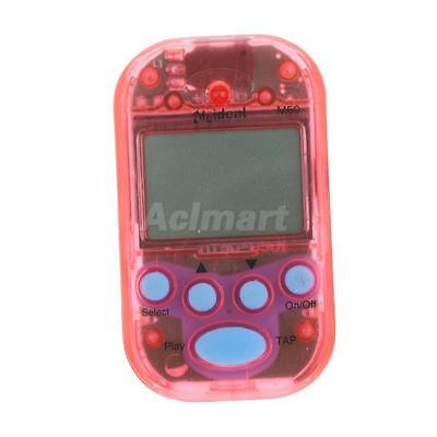 Multi-functional LCD Battery Powered Clip on Beat Tempo Metronome M50 Red