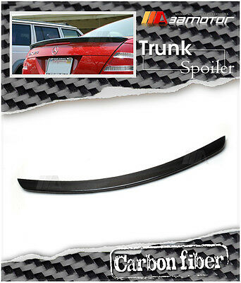 AMG Style Carbon Fiber Trunk Spoiler Wing for 2003-2010 Mercedes W209 CLK Coupe