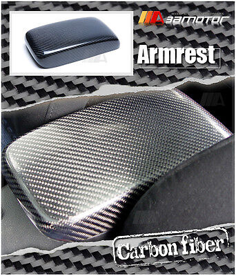 Replacement Carbon Fiber Interior Armrest Lid Cover for Mitsubishi EVO 7 8 & 9