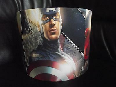 "The Avengers - Captain America Thor Hulk 10"" Drum Ceiling Lampshade Lightshade"