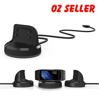 Magnetic Charging Battery Charger Cradle Dock Cable For Samsung Gear Fit 2 Watch