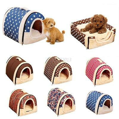 Soft Pet Products Dog Bed Pet House Washable Puppy Cat Cushion Kennel Mat Pad