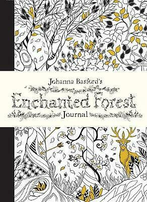Johanna Basford's Enchanted Forest Journal by Johanna Basford (English) Hardcove
