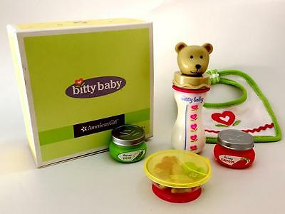 American Girl Bitty Baby Bitty's Snack Set new in box