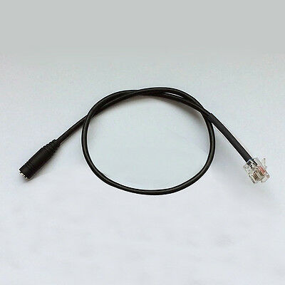 3.5Mm Jack- Rj9/10/22 Smartphone Headset Office Ip Phone Adapter Cable