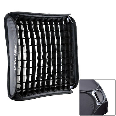 Godox 60x60cm Honeycomb Grid Foldable Softbox Elinchrom Mount for Studio Strobe