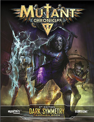 Mutant Chronicles RPG  3rd edition DARK SYMETRY Campaign Book