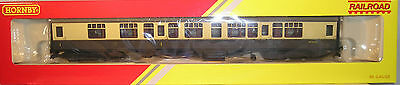 Hornby Oo Coach R4353 Br Mk1 Composite Coach W 15612 Rolling Stock Brand New