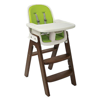 OXO Tot Sprout Adjustable Baby's Highchair With Removable Tray - Green & Walnut