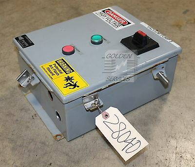 SCE LR97418 Start/Stop Panel  Type 12 & 4 with ABB A16-30-10 Contactor Module 60