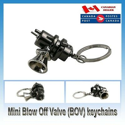 New Auto Parts BOV Blow Off Valve keychain keyring key chain Ring Turbo Fob
