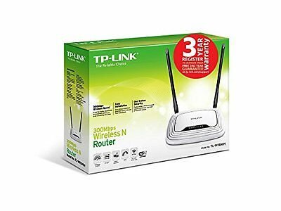 ROUTER INALÁMBRICO WIFI - Alta Potencia y Alcance - TP-LINK (300 Mbps) TL-WR841N