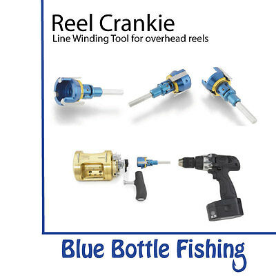 NEW Reel Crankie Line Winding Tool no 1 from Blue Bottle Fishing