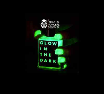 Glow in the Dark Fluorescent Pigment Powder for Halloween Nails Costumes Face