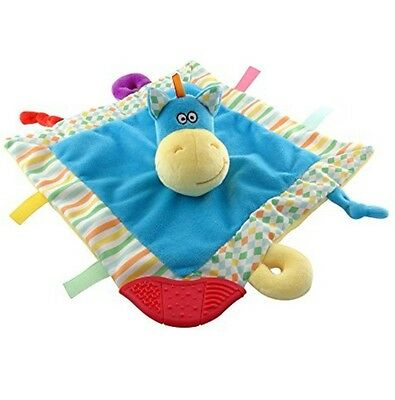 HIPPO Baby Blanket,Security Blanket, Teether, Super soft Blanket tag