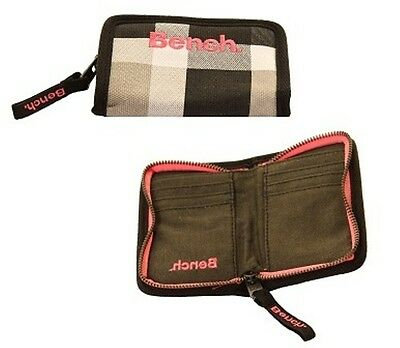 Bench Purse In Check Pattern