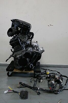 11 16 Suzuki Gsxr 750 Engine Motor *2014* 2300 Miles Car Kit