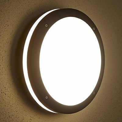 Biard E27 Outdoor Round Bulkhead Wall Security Light Modern Garden Lamp IP54