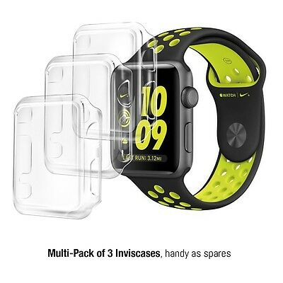Apple Watch Series 2 (38mm) Case Cover Screen Protection 3 in 1 Pack by Orzly